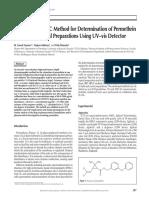 Permethrin Technical