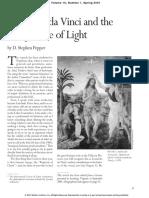Leonardo da Vinci and the Perspective of Light
