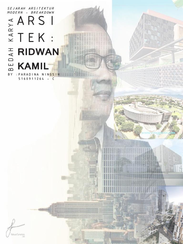 Breakdown Karya Ridwan Kamil