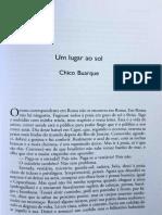 Crónicas de Chico Buarque