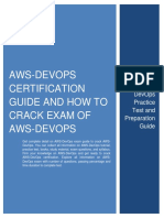 AWS-DevOps Certification Guide and How to Crack Exam of AWS-DevOps