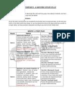 JAM Study Plan and Tips