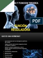 Hormonas y Funcion Tiroidea
