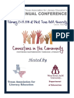 2018 tale conference program