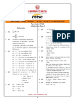 NSTSE Class 4 Solutions