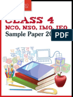 Olympiads Sample Paper Class 4