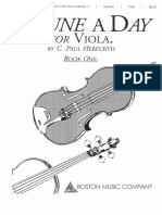 A Tune a Day for Viola Vol 1