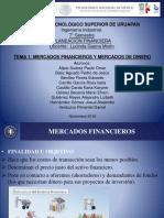 Mercados Financieros y de Dinero (1)