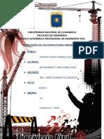 Patologías en Las Estructuras Hidraulicas