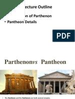 Parthenon n Panthenon