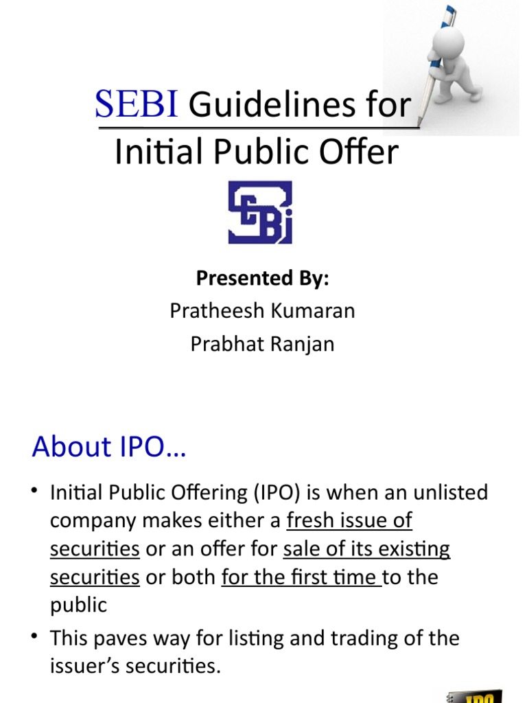 Literature review on ipo in india