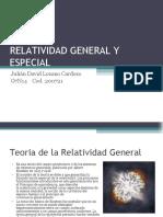 Relatividad General y Especial