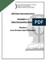 REPORTE SOBRE CONSEJOS AL MEDICO FREUD