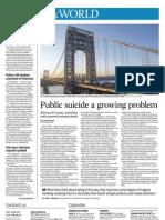 Nation & World- Public suicide