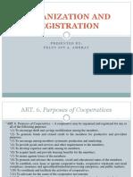 Organization and Registration
