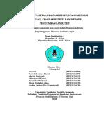 Mspmi Kelompok 1 (Standar Kualitas, Standar Resep, Standar Porsi Hidangan, Standar Bumbu, Dan Metode Pengembangan Resep