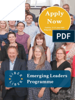 LIBER Europe - Emerging Leaders Programme 2019/2020