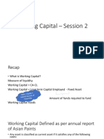 Working Capital – Session 2