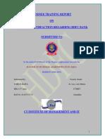 50124944 a Project Report on Custmer Satisfaction Regarding HDFC BANK