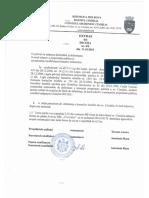 Extras Din Decizia 8-8, 11.10.2018, Cu privire la inițierea delimitării și delimitarea în mod selectiv a proprietății publice și actualizarea, modificarea hotarelor terenurilor