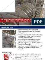Optimizing the Performance of Rotary Disc Filter