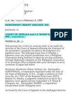 Northwest Orient Airlines, Inc. vs. Court of Appeals 241 SCRA 192 , February 09, 1995