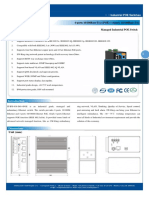 It Ips 618 Im 4 Poe Datasheet - SWITCH ETHERNET POE INDUSTRIAL