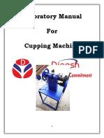 Cupping Machine Lab Manual