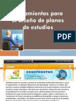 herramientas para el diseño de plamese de estudio...