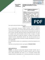 Delito de Feminicidio Agravado en Grado de Tentativa R.N.174 2016 Lima