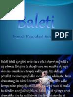 baleti projekt 10