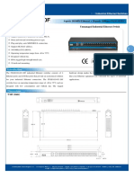 IT ES1024 IU 20F Datasheet - SWITCH ETHERNET UNMANAGED INDUSTRIAL