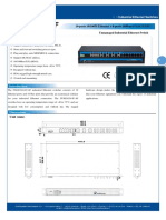 IT ES1024 IU 8F Datasheet - SWITCH ETHERNET UNMANAGED INDUSTRIAL