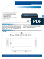 IT ES1024 IU Datasheet - SWITCH ETHERNET UNMANAGED INDUSTRIAL