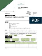 M 11 Floor Sawing Method Statement