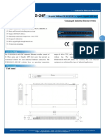 IT-ES1028-IU-4GS-24F_100-240VAC_Datasheet - SWITCH ETHERNET UNMANAGED INDUSTRIAL
