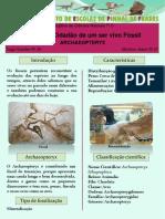 Cc Ser Vivo Fóssil