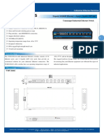 It Es1028 Iu 4gs 100 240vac Datasheet - SWITCH ETHERNET UNMANAGED INDUSTRIAL