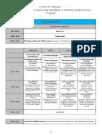 Provisional Programme 2 (25 Nov)