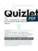 2.15 - Inventories Implications for Financial Statements and Ratios Flashcards  Quizlet.docx