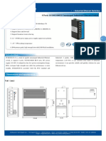IT ES208 IU G Datasheet - SWITCH ETHERNET UNMANAGED INDUSTRIAL