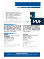 It Es3012g Iu 4gs Datasheet - SWITCH ETHERNET UNMANAGED INDUSTRIAL