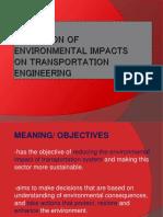 Mitigation of Environmental Impacts
