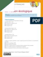 La Maison Ecologique-b1-Fiche Eleve (1)