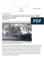 Russia's Provocations in the Sea of Azov_ What Should Be Done
