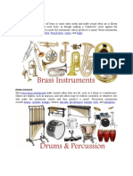 kinds of musical instruments.docx