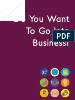 Do You Want to Go Into Business