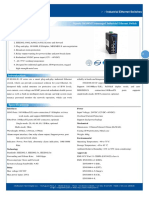 IT ES308 IU 1F Datasheet - SWITCH ETHERNET UNMANAGED INDUSTRIAL
