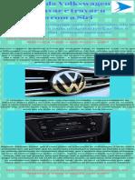 Aplicativo da Volkswagen vai destravar e travar o veículo com a Siri
