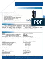 IT ES308 IU Datasheet - SWITCH ETHERNET UNMANAGED INDUSTRIAL